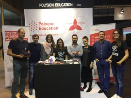 El equipo de Polygon en SIMO Educación 2015.