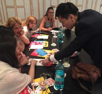 Brandon Oh en la Conferencia de Singapur el pasado mes de junio en Madrid.